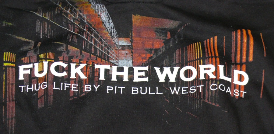 West Coast Pit Bull Mikina WP Fuck the World - Outlet Original Store 22e3bdd765