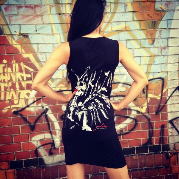 0c95cf026c1e Yakuza Dámské šaty YK GKL231 black - Outlet Original Store