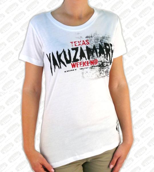 bbe7c3f0ebd3 Yakuza Dámské tričko YK GSB317 white - Outlet Original Store